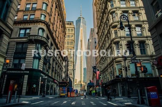 Фотообои На улице в Нью-Йорке