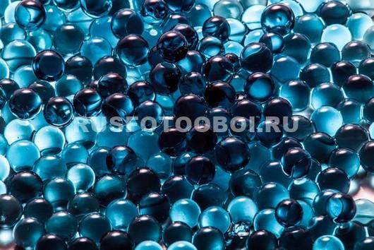 Синие бусинки