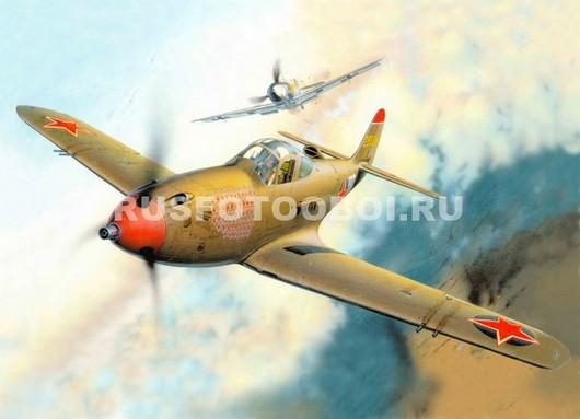 Старый военный самолёт