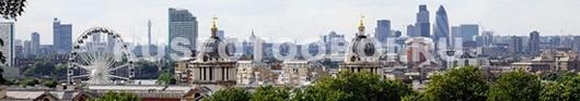 Панорама с небоскребами