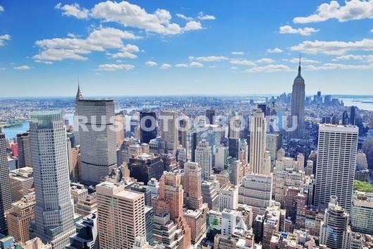 Фотообои Нью-Йорк в солнечный день
