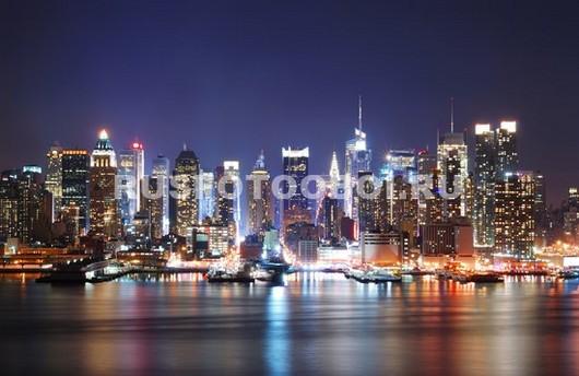 Фотообои Набережная Нью-Йорка