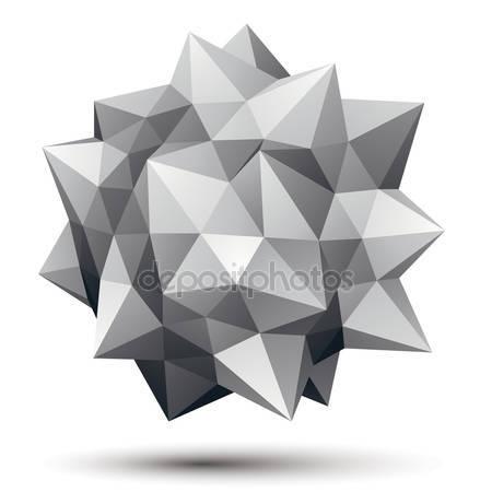 Геометрический полигональный элемент