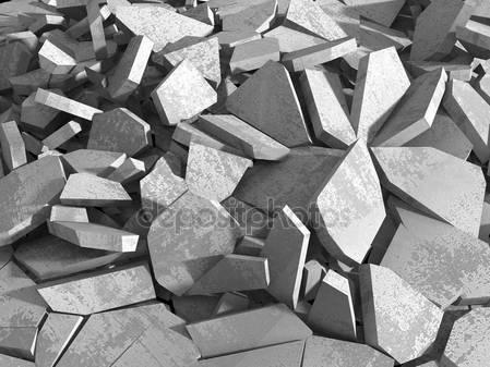 Трещины поверхности бетона