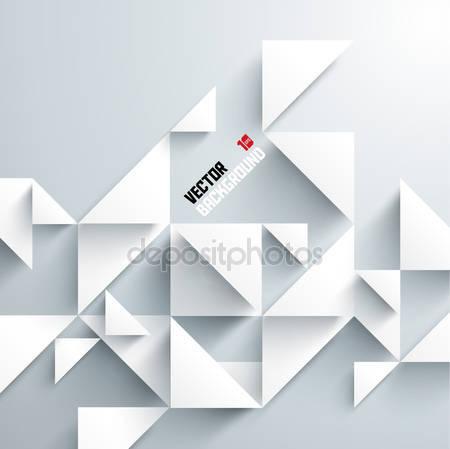 Абстрактный 3d геометрический дизайн