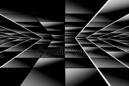 Фотообои Черные перспективы