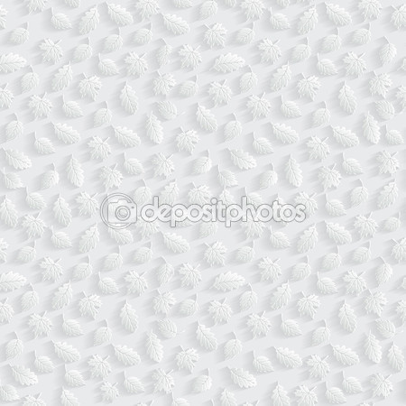 Векторные листья 3d