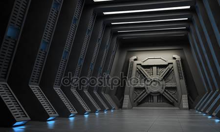 Фотообои 3d коридор