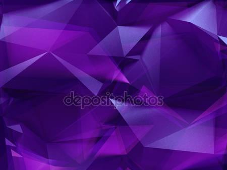 Фотообои 3d фиолетовый кристалл