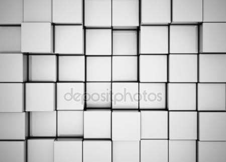 Абстрактный фон 3d блоки
