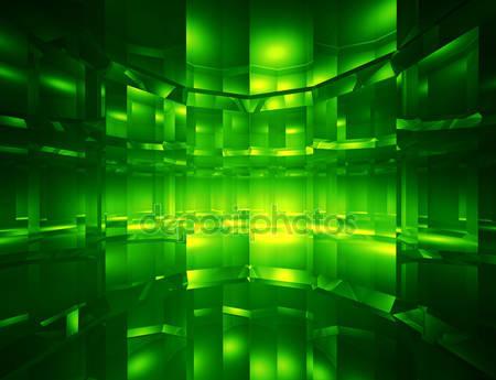 Фотообои 3d зеленный фон