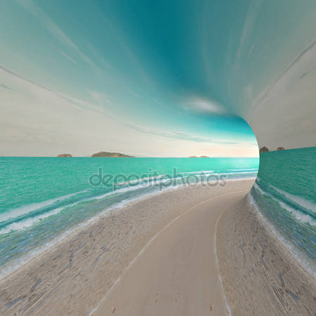 3d тунель