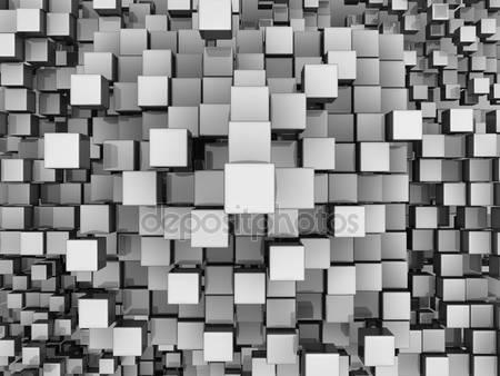 Кубики фон