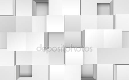 Векторная иллюстрация 3d кубов