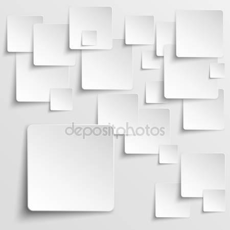 Квадраты бумаги