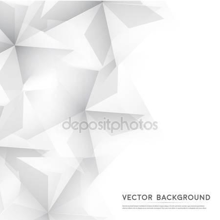 Геометрическая формы от серых кубов
