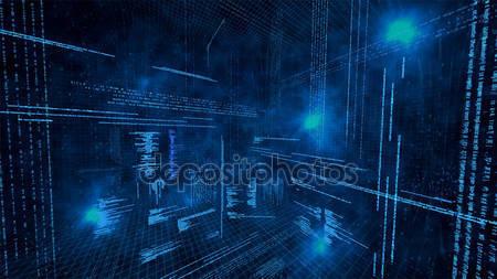 Иллюстрация виртуальных данных