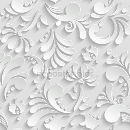 Фотообои Абстрактные 3d цветы