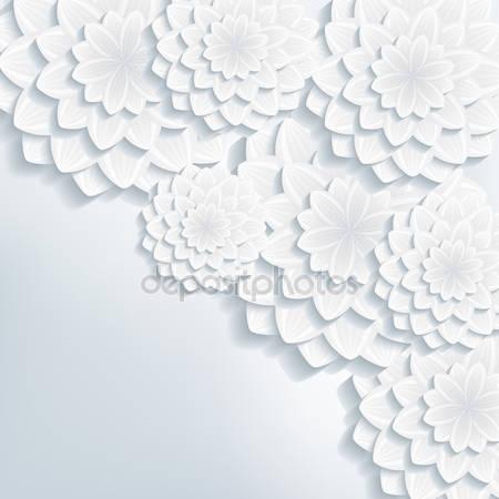 Цветы в 3d