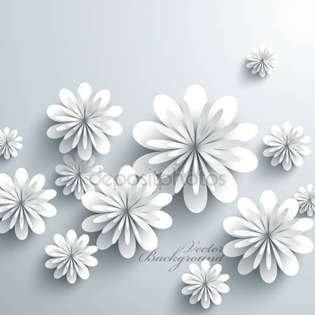 3d бумажные цветы