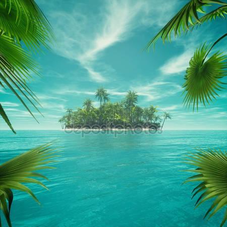 Пустынный тропический рай