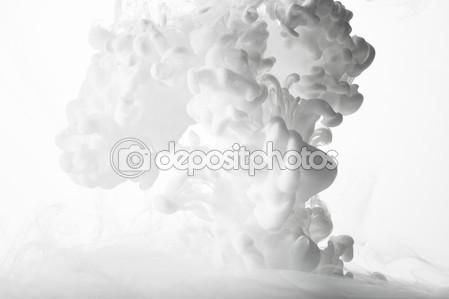 Абстрактный всплеск белой краской
