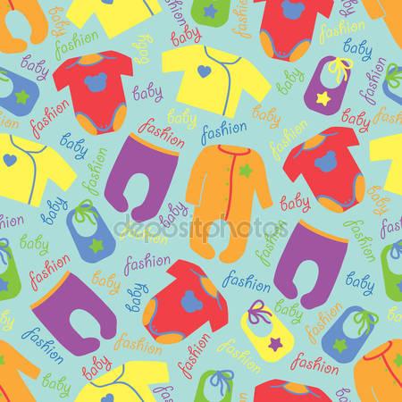 Красочная одежда для новорожденного