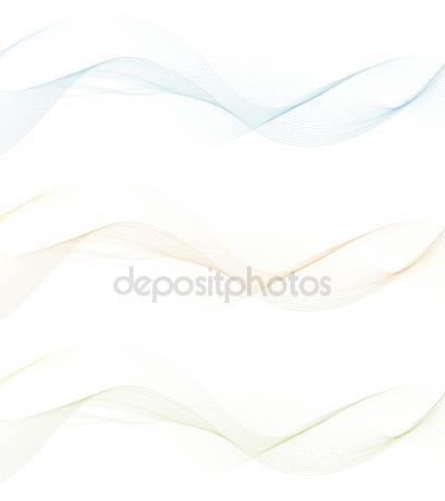 Фотообои Баннеры с абстрактными волнами