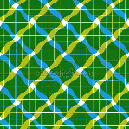 Фотообои Бесшовный узор из геометрической плитки