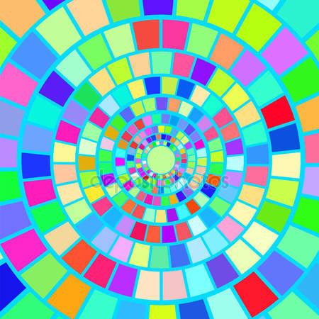 Красочный мозаичный фон