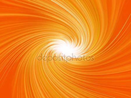 Оранжевый абстрактный взрыв