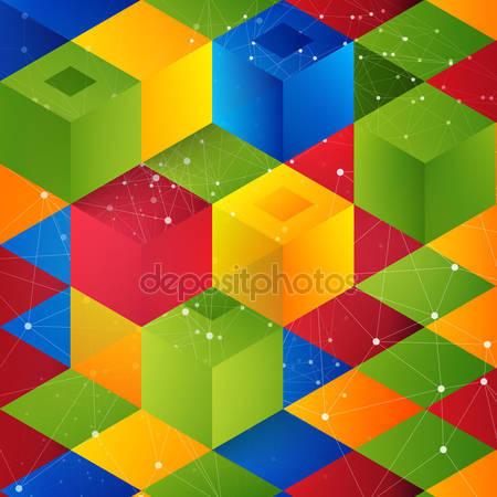 Векторное форма от кубов