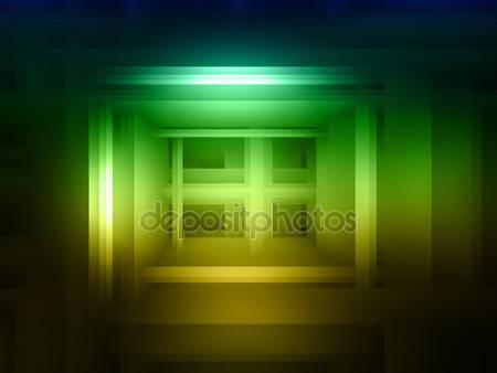 Фотообои Абстрактный зеленый и желтый фон