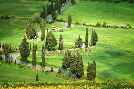 Tuscana пейзаж