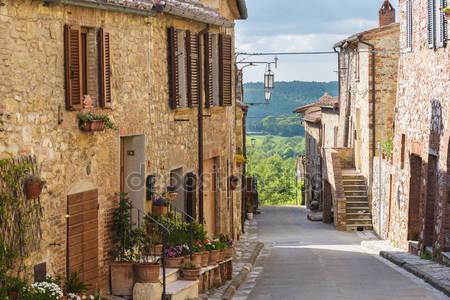 Улицы тосканского города
