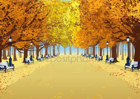 Фотообои Осенние оттенки