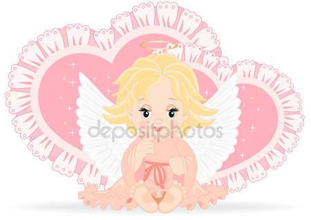 Маленьний ангел девочки