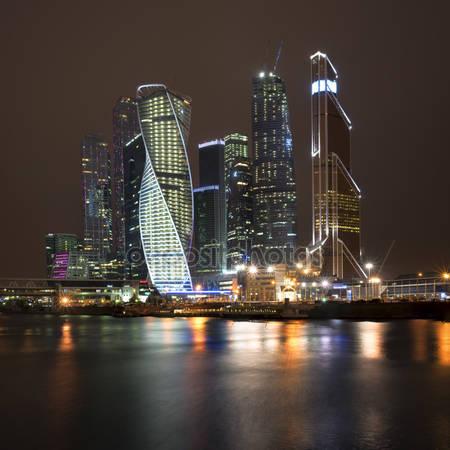 Фотообои Бизнес здания москвы