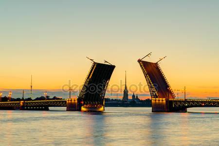 Фотообои Дворцовый мост в санкт-петербурге