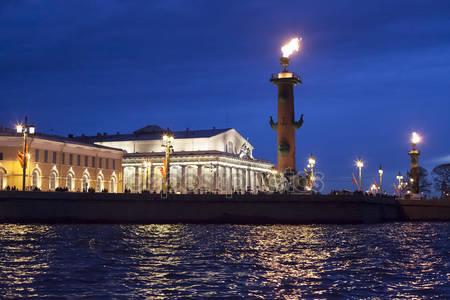 Санкт-петербург ночной вид