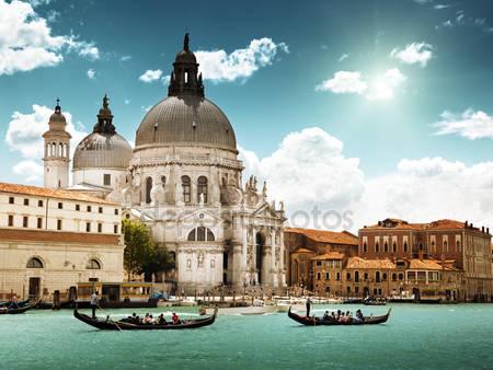 Гранд-канал и базилика санта-мария