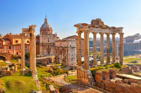 Римские развалины в риме