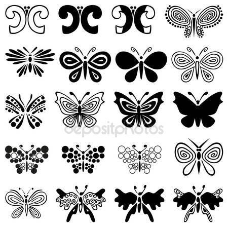 Украшение бабочки