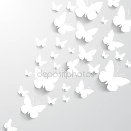 Фон с бабочками