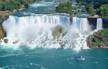 Фотообои Ниагарский водопад панорама