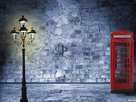 Фотообои Ночной пейзаж в лондоне