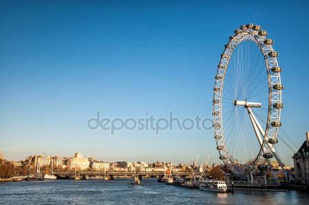 Представление о «лондонском колесе обозрения»
