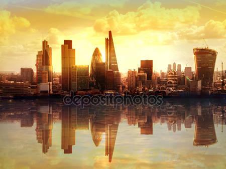 Лондонский закат