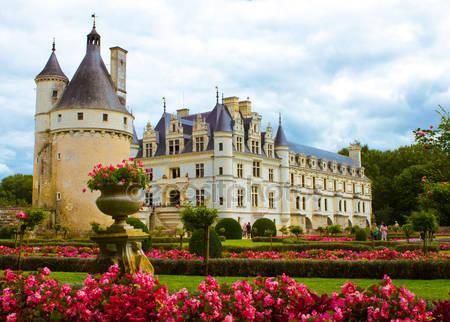 Фотообои Знаменитый замок шенонсо