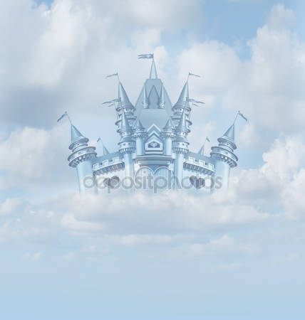 Волшебный сказочный замок